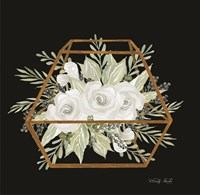 Gold Geometric Polygon Fine-Art Print