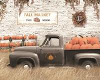 Fall Pumpkin Market Fine-Art Print