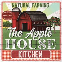 The Apple House Kitchen Fine-Art Print