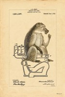 Monkey in Bowl Fine-Art Print