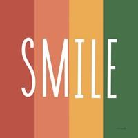 Smile Rainbow Retro Fine-Art Print