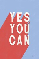Yes You Can Fine-Art Print