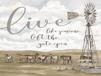 Live Like Someone? Fine-Art Print