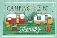 Comfy Camping VIII Fine-Art Print