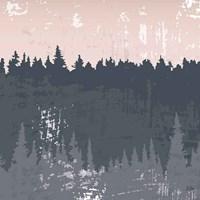 Evening Forest II Fine-Art Print