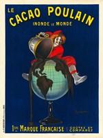 Le Cacao Poulain Inonde le Monde, 1911 Fine-Art Print