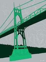 St. Johns Bridge - Portland Fine-Art Print