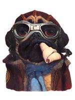 Aviator Pug Fine-Art Print