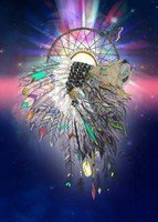 Cosmic Lion Butterfly Fine-Art Print