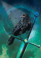 Cosmic Raven Fine-Art Print