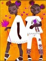 The Petite Twins Fine-Art Print