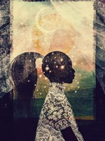 The Sun, Stars and Moon Fine-Art Print