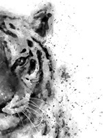 Tiger At Attention Fine-Art Print