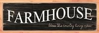 Farmhouse - My Home Sweet Home Fine-Art Print