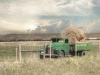 Hay for Sale Fine-Art Print