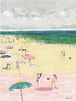 Beach Days 2 Fine-Art Print