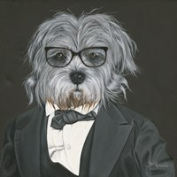 Dog in Suit Fine-Art Print