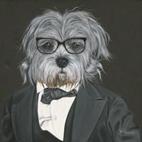 Dog in Suit Fine-Art Print