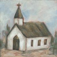 Chapel on the Hill Fine-Art Print