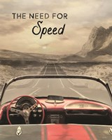 The Need for Speed Fine-Art Print