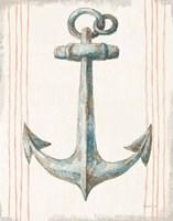 Floursack Nautical V no Words Fine-Art Print