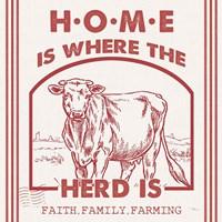 Vintage Farmhouse IV Fine-Art Print