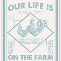 Vintage Farmhouse III Fine-Art Print