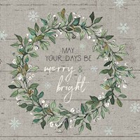 Holiday on the Farm IX - Merry and Bright Fine-Art Print