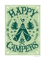 Happy Campers Fine-Art Print