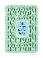 Escape to the Lake Fine-Art Print