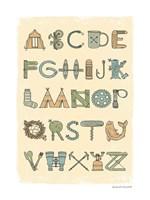 Camping Alphabet Fine-Art Print