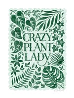 Crazy Plant Lady Fine-Art Print