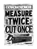 Measure Twice II Fine-Art Print