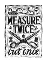 Measure Twice I Fine-Art Print