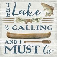 Lakeside Retreat VIII Fine-Art Print
