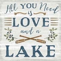 Lakeside Retreat VI Fine-Art Print