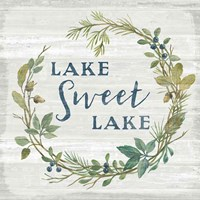 Lakeside Retreat V Fine-Art Print