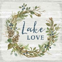 Lakeside Retreat IV Fine-Art Print