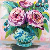 Pink Peonies II Fine-Art Print