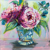 Pink Peonies I Fine-Art Print