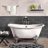 Serene Bath II black & white Fine-Art Print