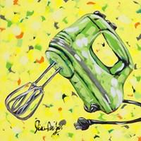 Kitchen Sketch Mixer Fine-Art Print