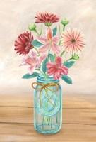 Floral Jar I Fine-Art Print