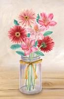 Floral Jar II Fine-Art Print