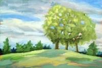 Green Horizon Landscape Fine-Art Print