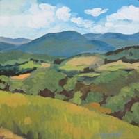 Green Hills Square Fine-Art Print