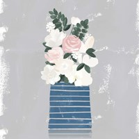 Contemporary Flower Jar II Fine-Art Print