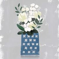 Contemporary Flower Jar III Fine-Art Print