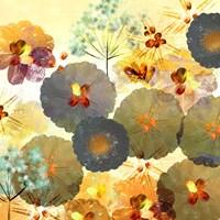 Textured Hedgerow Rust Square Fine-Art Print