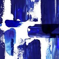 Indigo Abstract III Fine-Art Print